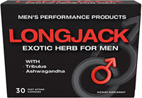 Longjack Herb with Tribulus and Ashwagandha  30 Capsules  $29.99
