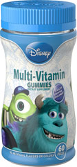 Disney Monster U Gummies  60 Gummies  $5.99