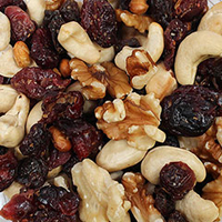 Organic Cranberry Walnut Clusters <p>Organic Cranberry Walnut Clusters are a delicious mix of tasty and healthy ingredients.</p><p>Includes the following:</p><ul><li>Organic Cranberries</li><li>Organic Cashews</li><li>Organic Soybeans</li><li>Organic Red Flame Raisins</li><li>Organic Walnuts</li></ul> 9 oz Container  $9.99