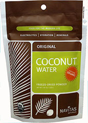 Organic Coconut Water Powder <p><strong>From the Manufacturer: </strong></p><p>Coconut Water Powder allows you to create a coconut beverage according to your own taste, inspiration, and needs. Stir approximately 1 tablespoon into a glass of water to create a hydrating sports drink, or add water to the powder and use the liquid as you would coconut water in a smoothie or other recipe. Hydrating on the Go!</p> 5.8 oz Bag  $24.49