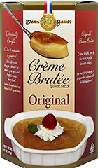 Original Crème Brulee Mix <p><strong>From the Manufacturer's Label:</strong></p><p>Dean Jacob's Creme Brulee Mix is the most foolproof way to prepare this unbelievably <strong></strong>delightful dessert! Deliciously simple and only takes ten minutes to prepare. Just add cream, bring to a simmer for a minute, pour and chill. With restaurant results in no time at all, your guests will definitely be impressed.</p> 4.1 oz Box  $2.75
