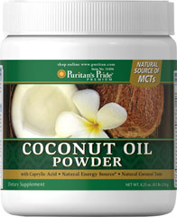 Coconut Oil Powder  0.5 lb. Powder  $7.99