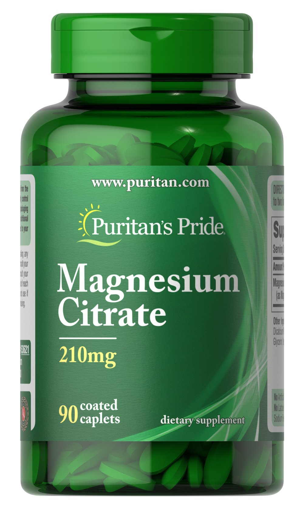Magnesium Citrate 200mg <p>Magnesium is essential for calcium metabolism, the production of enzymes and proteins, and the utilization of fats and carbohydrates.</p><p></p><p></p> 90 Caplets 200 mg $12.99