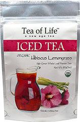 Organic Hibiscus Lemongrass Iced Tea <p><strong>From the Manufacturer:</strong></p><p>Organic Hibiscus Lemongrass tea is a Premium Whole leaf tea blended with Organic Egyptian Hibiscus and Organic Ceylon Lemongrass. Tea of Life Organic teas are easy to brew and are good for you too!</p><ul><li>100% Certified Organic</li><li>Gluten Free</li></ul> 6 Bags  $9.99