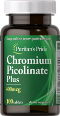 Chromium Picolinate Plus 400 mcg <ul><li>Essential trace mineral</li><li>Plays a role in the release of energy from cells**  </li><li>Involved in fat metabolism**  </li></ul><p>Your body needs the essential trace mineral, Chromium, every day. Because it is found in such small amounts in the body (usually less than 5 grams) a nutritional supplement that contains Chromium may be especially important.**   Chromium is important as it plays a role