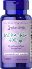 Meratrim 400 mg <ul><li>Helps support your dieting goals**</li><li>Supports a healthy body composition**</li><li>Blend of two natural plant extracts</li></ul><p>Meratrim® supports a healthy body composition.** Utilizing a blend of Indian Sphaeranthus and Mangosteen, the proprietary blend of Meratrim is designed to support dieting goals.** Used in conjunction with a sensible reduced calorie diet and exercise program, Meratrim can help you