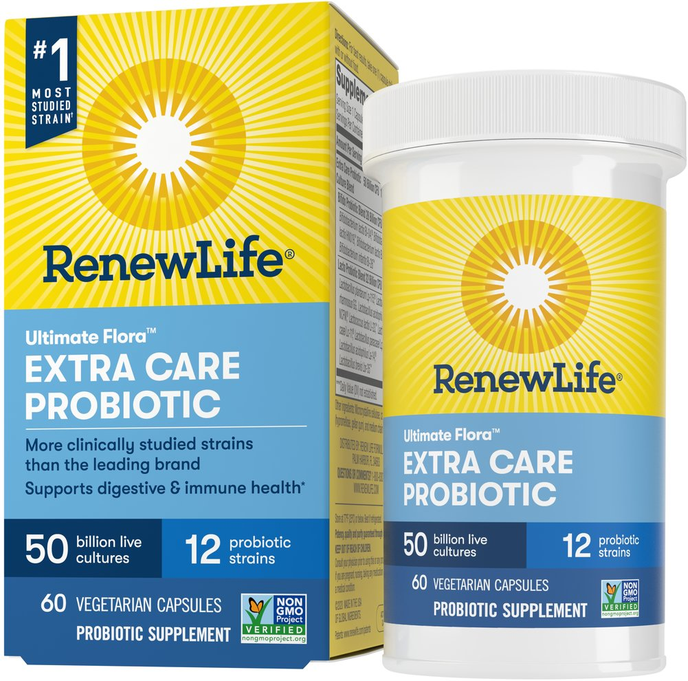 Ultimate Flora Critical Care 50 billion <p><strong>From the Manufacturer:</strong></p><p>Relieves occasional digestive discomfort and restores digestive balance*</p><p>Manufactured by Renew Life®</p> 60 Capsules 50 billion $56.99