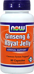 "Ginseng & Royal Jelly <p><strong>From the Manufacturer:</strong></p><ul><li>Immune System Support*</li></ul><p><span style=""color:black;"">This product is a unique combination of Panax Ginseng and Royal Jelly. Panax Ginseng has a 2,000 year history of use. Royal Jelly is the sole food of the Queen Bee and enables her to outlive worker bees thirty-fold, while laying up to 2,000 eggs daily throughout her life.</span>&lt"