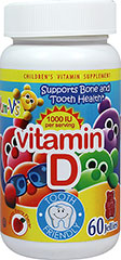 Yum-V's Vitamin D  60 Jellies Chewables  $6.99