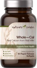 Whole - Cal  60 Rapid Release Softgels  $2.99