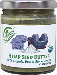 Organic Hemp Seed Butter <p><strong>From the Manufacturer:</strong><br /><br />Only the finest selection of raw and organic ingredients are used in this stone-ground nut and seed butter. </p><p>Every batch is handcrafted and meticulously cared for during a process which takes 24-48 hours. A gourmet and silky smooth nut/seed butter that still maintains all of its nutritional integrity, delicious!</p> 8 oz Jar  $30.99