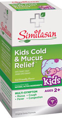 Kids Cold & Mucus Relief  4 oz Bottle  $7.99