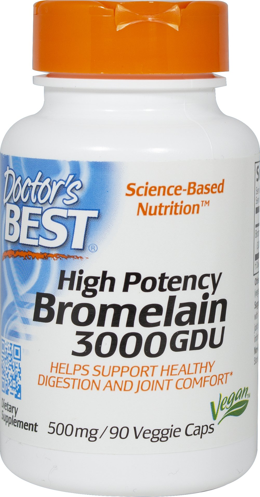 Best 3000 GDU Bromelain  90 Vegi Caps 500 mg $15.29