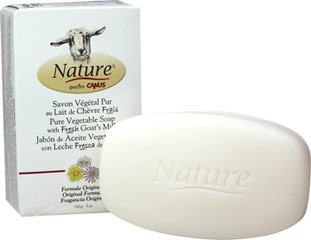 Fresh Goat's Milk Soap  5 oz Bar  $3.19