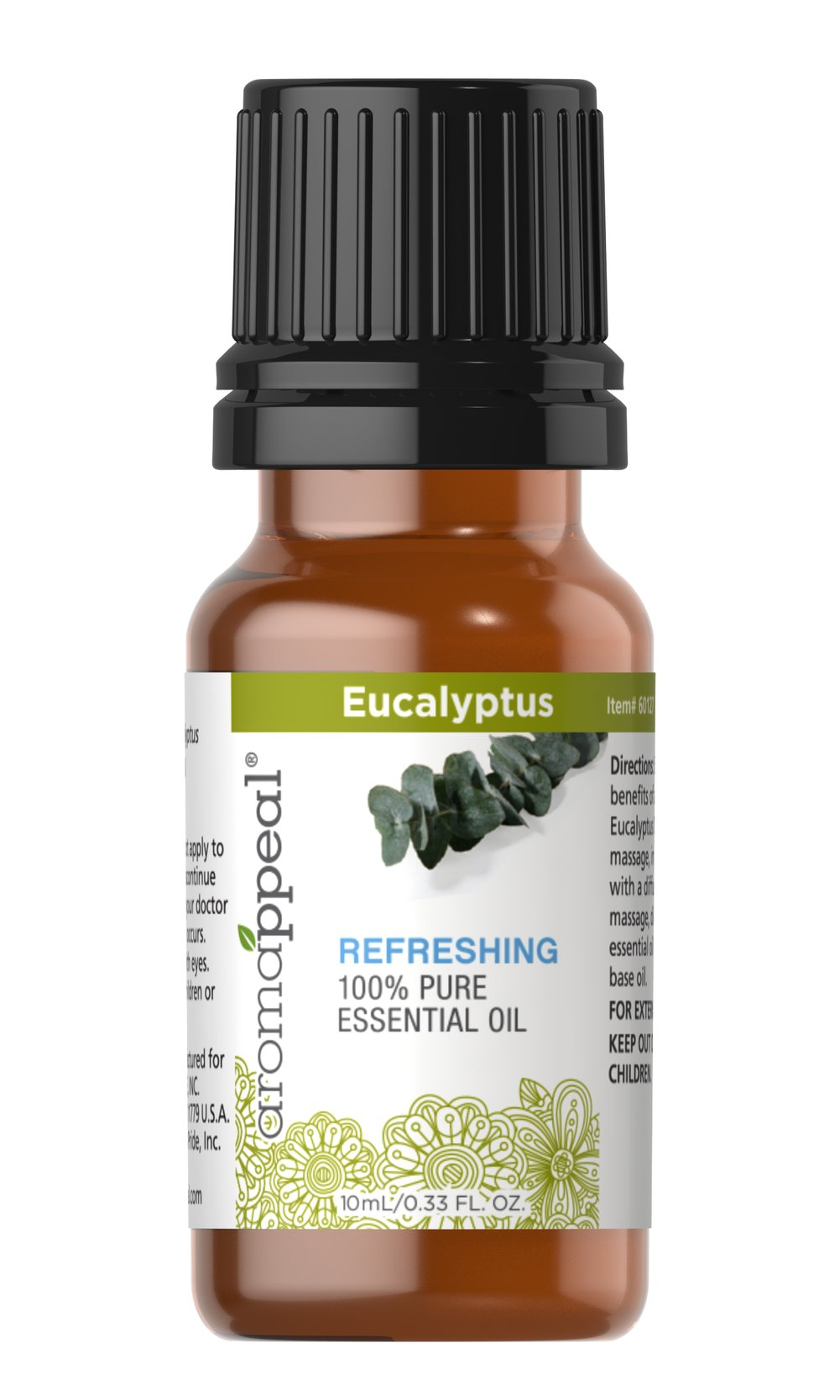 "Eucalyptus 100% Pure Essential Oil <p>Eucalyptus has a powerfully woody, slightly sweet scent that can cultivate your senses and refresh your outlook. </p><ul><li><span class=""bold-pink"">Traditional Uses:</span> Soothing, rejuvenating, and uplifting.<br /></li><li><span class=""bold-pink"">History:</span>  Eucalyptus has a powerfully woody, slightly sweet scent that can  cultivate your senses and refresh your out"