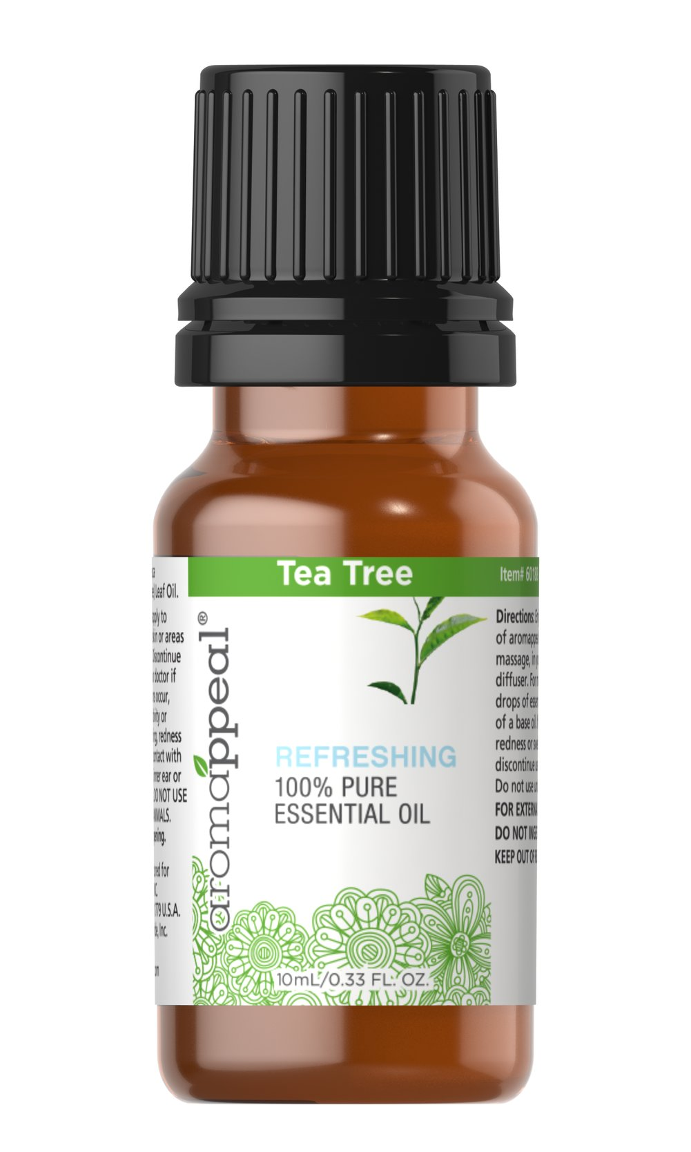"Tea Tree 100% Pure Essential Oil <p>Go with the invigorating power of Tea Tree Oil. Tea Tree Oil has a strong, freshly pleasant aroma.<br /></p><ul><li><span class=""bold-pink"">Traditional Uses: </span>Purifying, uplifting, cleansing.<br /></li><li><span class=""bold-pink"">Botanical Name: </span>Melaleuca alternifolia<br /></li><li><span class=""bold-pink"">Plant Part: </s"
