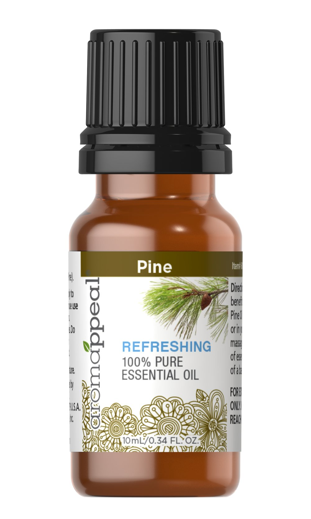 "Pine 100% Pure Essential Oil <p>Awaken your senses with the woody, evergreen aroma of Pine. This vibrant oil is powerfully distinct and has the ability to leave you centered and utterly refreshed.</p><ul><li><span class=""bold-pink"">Traditional Uses:</span> Refreshing and uplifting.<br /></li><li><span class=""bold-pink"">History:</span>  Awaken your senses with the woody, evergreen aroma of Pine. This vibrant  oi"