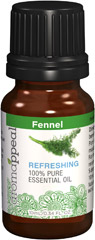 "Fennel 100% Pure Essential Oil <p>Soothe your senses and experience total body purification with the warm, sweet scent of Fennel. </p><p></p><p>This somewhat spicy aromatic oil has a long history of joint soothing purposes, as well as for its cleansing effect on heart and women's health.</p><ul><li><span class=""bold-pink"">Traditional Uses:</span> Cleansing and purifying, women's health, soothing on joints and the back, cardiot"