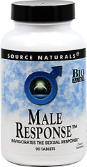 Male Response <p><strong>From the Manufacturer's Label: </strong></p><p>Male Response™ invigorates the sexual response while helping to support the health of the prostate gland, revitalizing energy levels and nourishing the adrenals.**</p> 90 Tablets