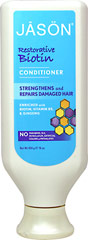 Jason® Natural Restorative Biotin Hair Conditioner  16 oz Conditioner  $8.39