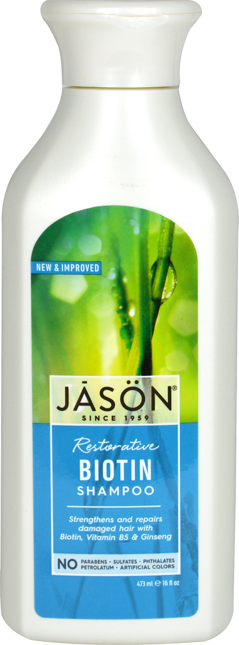 Jason® Natural Biotin Hair Restorative Shampoo  16 oz Shampoo  $8.39