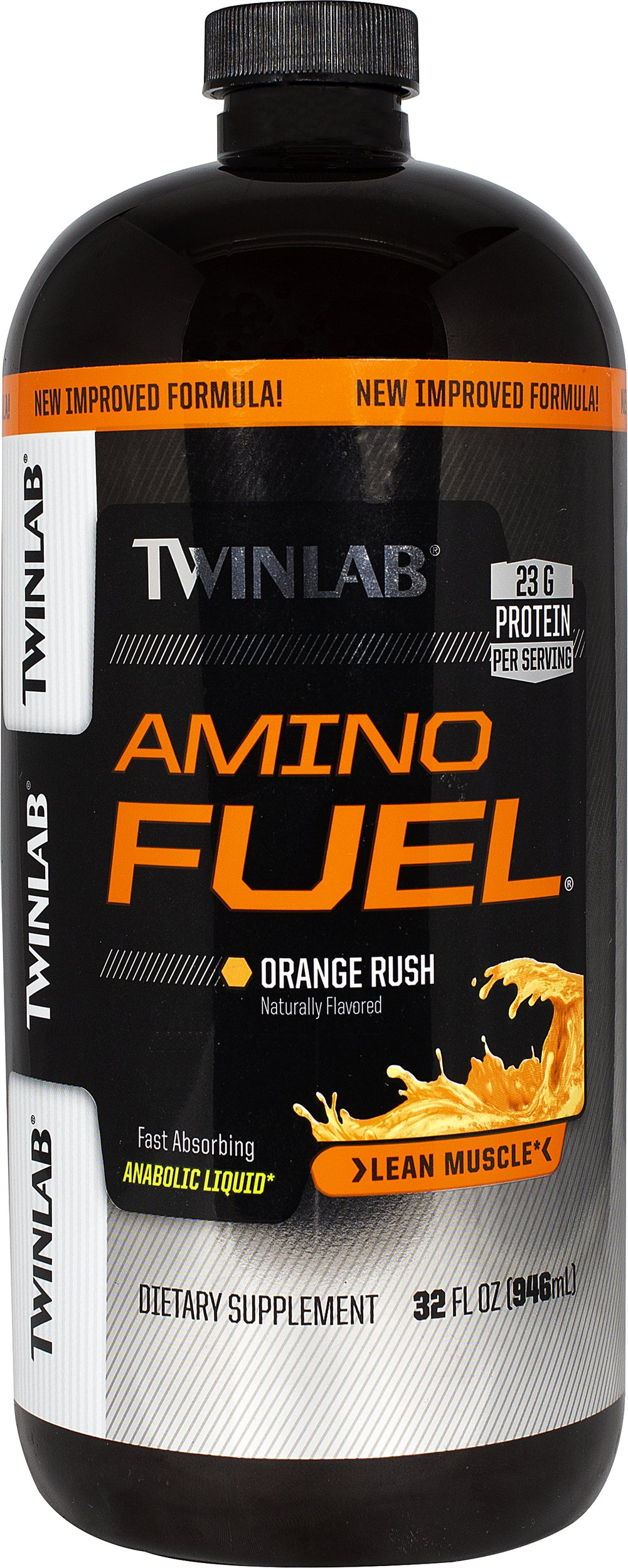 Amino Fuel® Orange Rush <p><strong>From the Manufacturer's Label: </strong></p><p>THE SCIENCE BEHIND THE SIZE:</p><p><strong>Product: </strong>A fast absorbing liquid amino acid that has, per serving, 15 grams (15,000 mg) of high quality branched chain, peptide-bonded, and free amino acids; stress B-complex vitamins; energizing complex carbohydrates; and pure crystalline fructose.**</p><p><strong>Result:</strong&