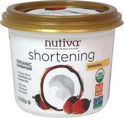 Organic Shortening  15 oz Container  $12.24