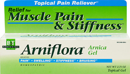 Arniflora Arnica Gel <p><strong>From the Manufacturer's Label: </strong></p><p>Homeopathic Formula</p><p>Arniflora® is a modern pharmaceutical preparation containing 8% tincture of Arnica montana.</p><p>Manufactured by BOERICK & TAFEL.</p> 2.75 oz Gel  $8.99