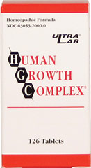 Human Growth Complex <p><strong>From the Manufacturer's Label:</strong></p><p>Human Growth Complex is manufactured by Ultra Lab Nutrition.</p> 126 Tablets  $32.99