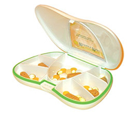 Vitamin Organizer <p>Keeping your vitamins organized, just became a little easier. These lightweight vitamin organizers keep your favorite supplements conveniently sorted into individual compartments.</p> 1 Each  $4.99