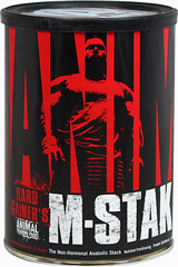 Animal M Stak™ From the Manufacturer's Label: <p></p><p>Geared specifically for intense workouts</p><li><p>Helps maximize lean gains with efficiency and effectiveness</p></li><li><p>Proudly made in the USA</p></li></p.<b><//p.<b> 21 Packets  $36.99