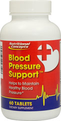 Blood Pressure Support <p>Blood Pressure Support contains an all natural ingredient, Hydrolyzed Milk Casein (Ameal Peptide®), standardized for 2 tripeptides, IPP(Isoleucine-Proline-Proline) & VPP(Valine- Proline-Proline).</p> <p>Ameal Peptide® is a trademark of Calpis Co.</p>   60 Tablets