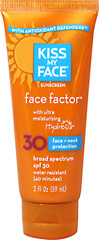 Suncare Face Factor SPF 30  2 oz Tube  $9.99