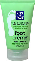 Peppermint Foot Crème <p><strong>From Manufacturer: </strong></p><p><strong></strong>Soothe and moisturize  with tropical butters and natural botanicals. Pamper your feet naturally.</p> 4 oz Tube  $6.99