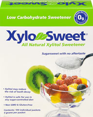 XyloSweet® Natural Xylitol Sweetener Packets  100 Packets  $7.99