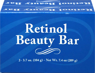 Retinol Body Soap <p>Imagine an amazing vitamin that can give you a soft, radiant complexion every time you wash. Now imagine how easy that is … with Retinol Body Soap. Vitamin A (also known as Retinol) is considered one of the most important vitamins to your skin's appearance, and it is one of the few vitamins that can be absorbed through the skin. Enjoy the benefits of Vitamin A with our luxurious Retinol soap!</p>  2 Bars  $6.63