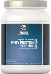 Whey Protein for Her Vanilla Bean  1 lb Powder  $30.99