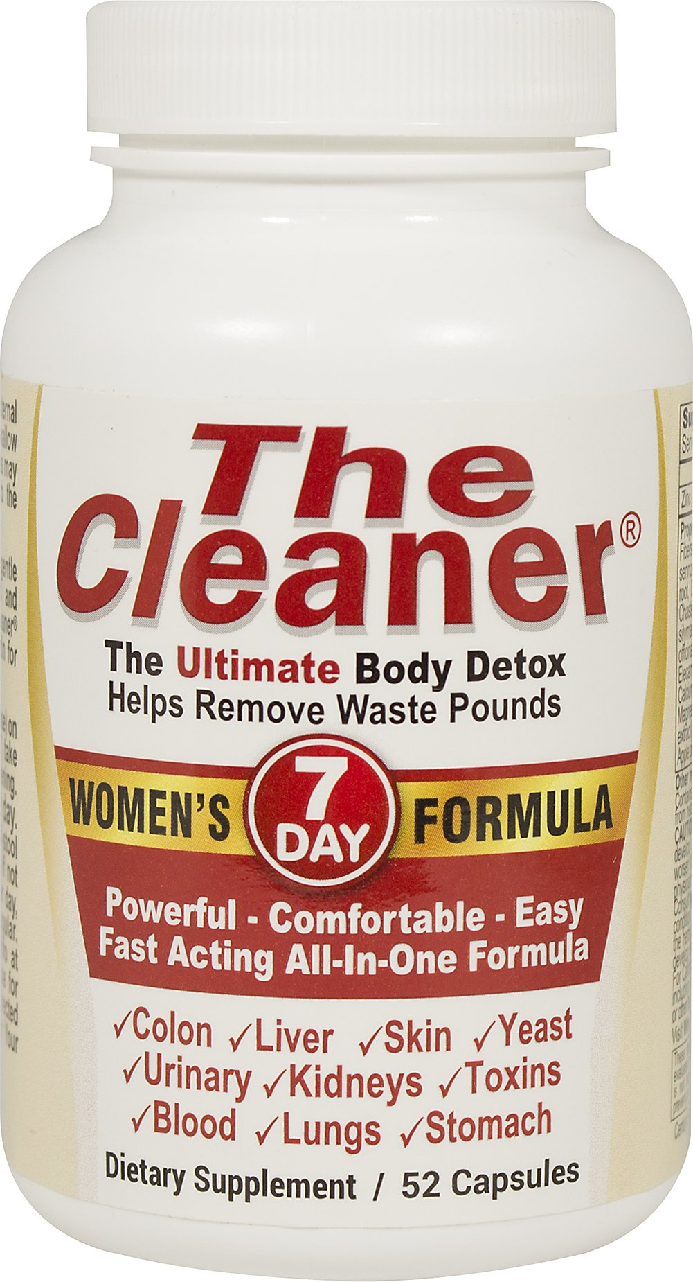 The Cleaner® 7 Day Women's Formula  52 Capsules  $12.99