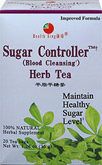 Sugar Controller Herb Tea with Mulberry Leaf <p><strong>From the Manufacturer's Label: </strong></p><p>This herb tea is made of mulberry leaf and other precious herbs with a nice natural flavor. Enjoy this tea at any time of day!<br /></p> 20 Tea Bags  $12.99