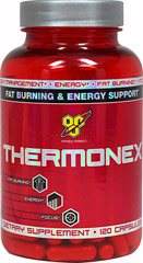 Thermonex <strong></strong><p><strong>From the Manufacturer's label:</strong></p><p>Designed for healthy adults 18-50 years of age seeking to support weight management, energy, and performance. ** </p><p>Manufactured by BSN</p><p></p> 120 Capsules  $25.99