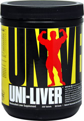 Uni Liver <p.<b>From the Manufacturer's Label:<p></p><p>Uni Liver is manufactured by Universal.</p></p.<b> 500 Tablets  $24.99