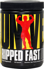 Ripped Fast <p><b>From the Manufacturer's Label:</b></p> <p>Ripped Fast is manufactured by Universal.</p>  120 Capsules  $12.99