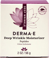 Derma E® Deep Wrinkle Reverse Moisturizer with Peptides Plus®  2 oz Cream  $34.80