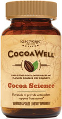 CocoaWell™ Cocoa Science with 450mg Pure Plant Flavanols™  60 Vegi Caps 450 mg