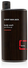 Every Man Jack® Cedarwood Body Wash & Shower Gel <p><strong>From the Manufacturer's Label:</strong></p><p><strong>Cedarwood</strong></p><p><strong>Body Wash & Shower Gel</strong></p><p>WILL THIS MAKE ME AN IDOL? No guarantees, but this refreshing, hydrating body wash will nourish and protect your skin. Cleans deep to remove your body's dirt and grime, but it's never drying.</p><p>NATURAL IN