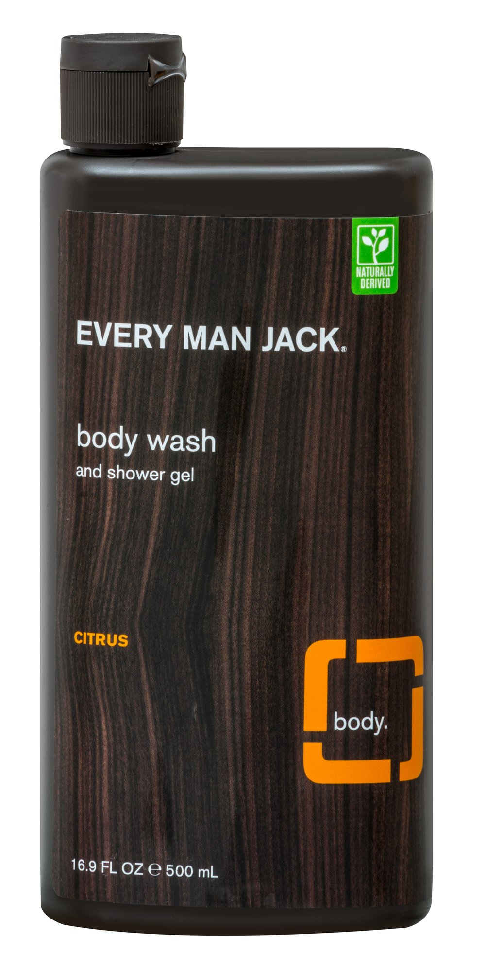 Every Man Jack® Citrus Scrub Body Wash & Shower Gel <p><b>From the Manufacturer's Label:</b></p> <p><b>Citrus Scrub</b></p> <p><b>Body Wash & Shower Gel</b></p>  <p>WILL THIS STUFF MAKE ME A ROCK STAR? We don't condone air guitar in the shower. (Or anywhere else.) But give it a try. While that's going on, this invigorating body wash will gently scrub your skin, leaving it feeling clean and smooth. </p&g
