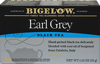 Earl Grey Black Tea  20 Tea Bags  $5.99