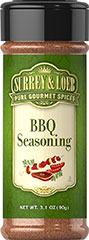 BBQ Seasoning <p>Surrey & Loeb''s House BBQ seasoning is perfect for sizzling steaks, chicken, pork and kabobs. A blend to satisfy every barbeque fan!</p>  3.1 oz Seasoning  $6.99