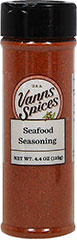 Seafood Seasoning <p>You will love this delicious Seafood Seasoning! A combination of essences both spicy and fresh. Your seafood will taste as succulent and flavorful as ever! </p> 4.4 oz Seasoning  $5.99