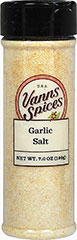 Garlic Salt <p>Renowned for its amazing and unmistakable taste and aroma. Garlic is considered among the most universal of all the spices, and garlic salt is truly a convenience – saving valuable prep time. </p> 7 oz Salt  $5.99
